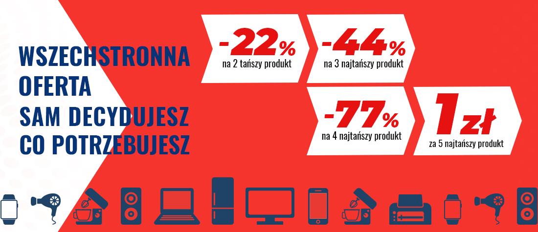 5 produkt za 1zł. Promocja neo24.pl