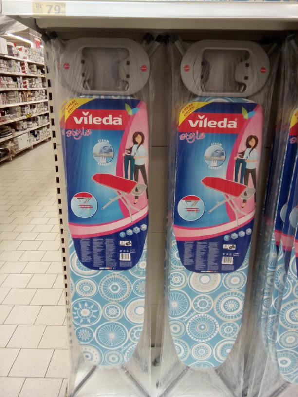 Deska do prasowania Vileda Viva Express Style 110cm @Auchan