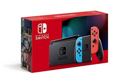 Nintendo Switch 2019 (v2) Neon z Amazon.fr