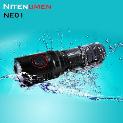 Latarka Nitenumen NE01 Cree XM - 1000 lumenów - 13500 cd @Gearbest