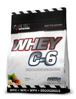 Białko Whey C6 2250gr. smak bananowy