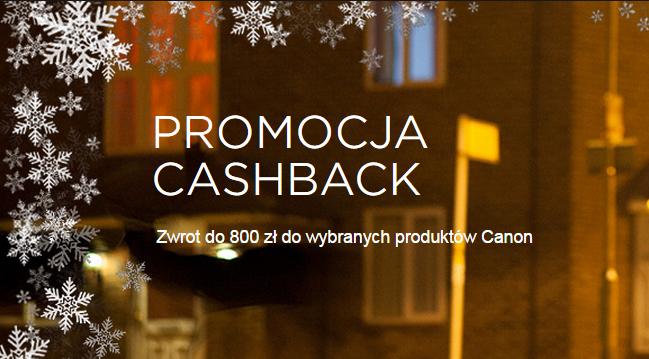 Cashback Canon - do 400zł zwrotu na pojedyncze produkty! (Aparaty, obiektywy i drukarki!) @ Canon
