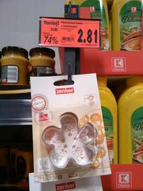 Wykrawacz do ciast Zenker w super cenie. Kaufland Poznań