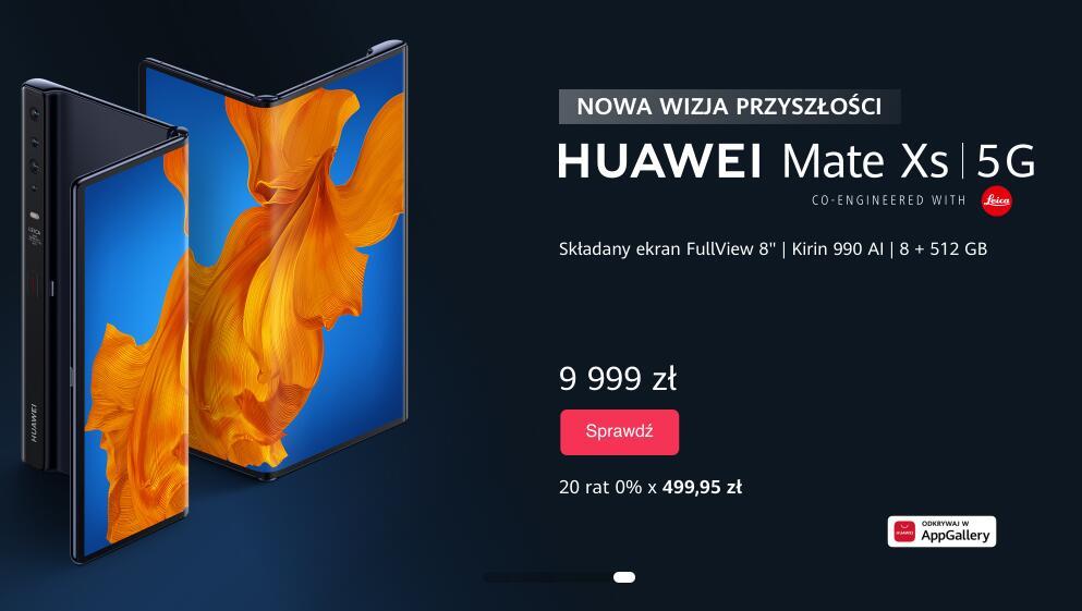 HUAWEI MATE XS 5G - GRANATOWY