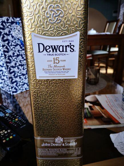 Blended Scoth Whisky Dewar's 15 YO 700 ml Auchan M1 Częstochowa