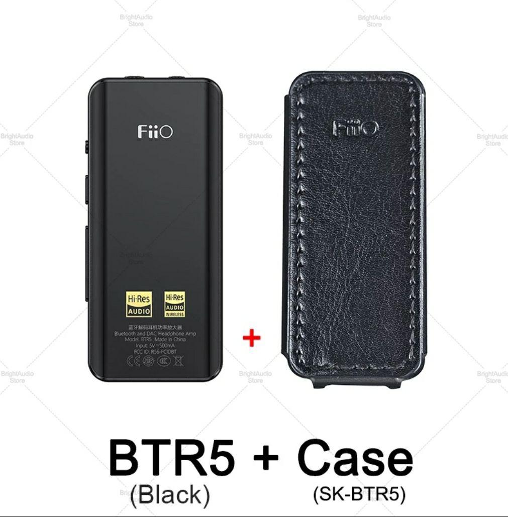 Fiio BTR5 DAC Bluetooth 5.0 wzmacniacz słuchawkowy + Etui 113,95$