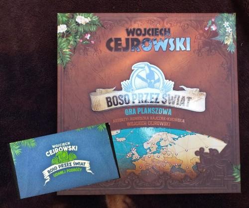 Boso przez świat - gra panszowa i portfel - Wojciech Cejrowski