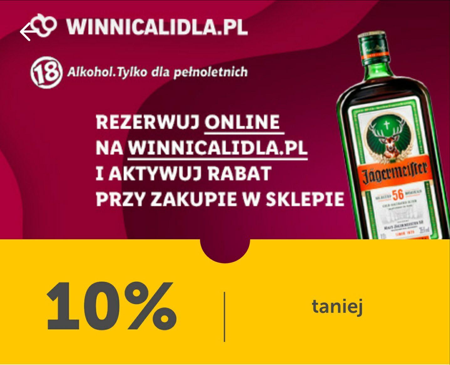 JÄGERMEISTER 1L - Winnica Lidla - Jagermeister