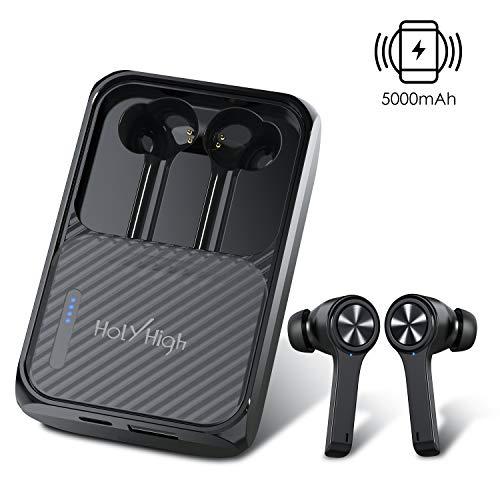 Słuchawki HolyHigh EA2 za 20€ - etui z powerbankiem 5000 mAh i ładowarką bezprzewodową 5W, BT 5.0, IPX5 (darmowa dostawa od 39€)