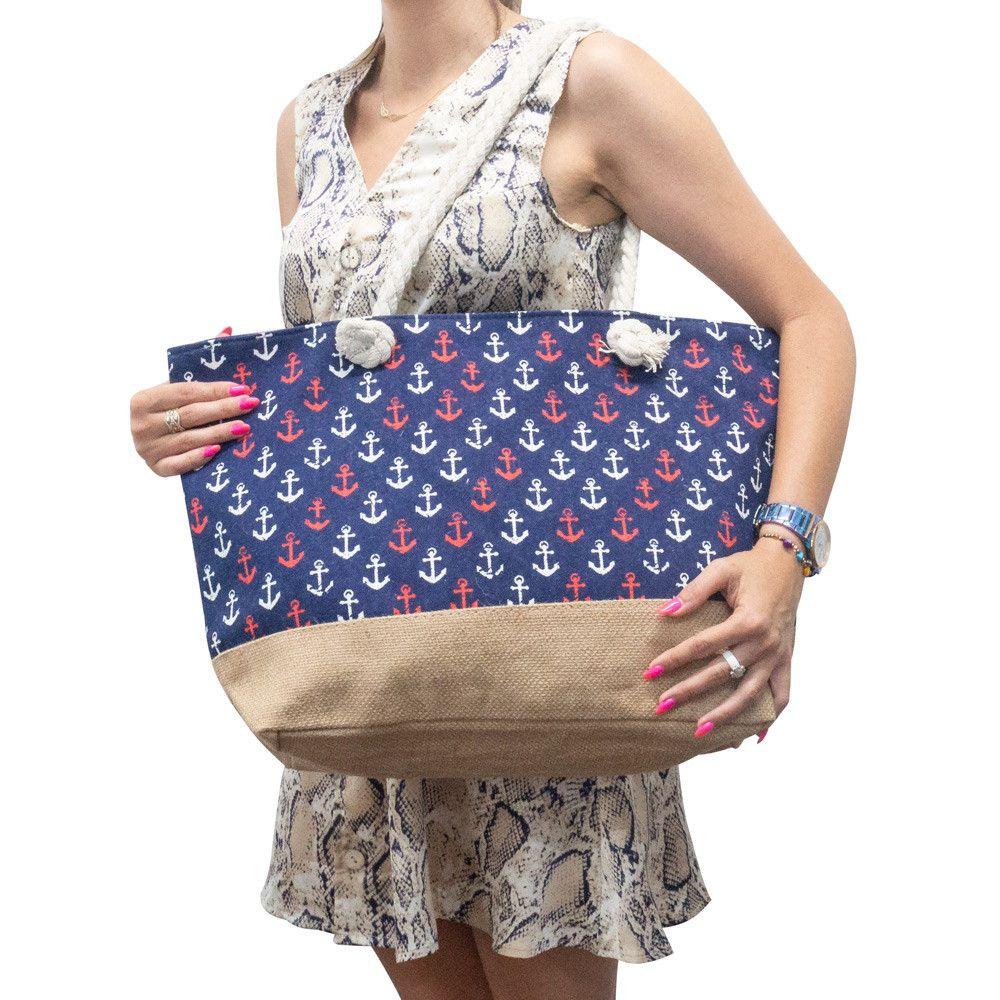 Duża torba plażowa damska (wiele wzorów) - Carrefour