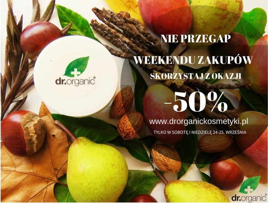 drorganickosmetyki.pl, -50% na wszystko w sobotę i niedzielę 24-25.09