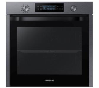 Piekarnik Samsung Dual Cook NV75K5541RG (2 termoobiegi, czyszczenie parą, teleskopowe prowadnice) @ Euro