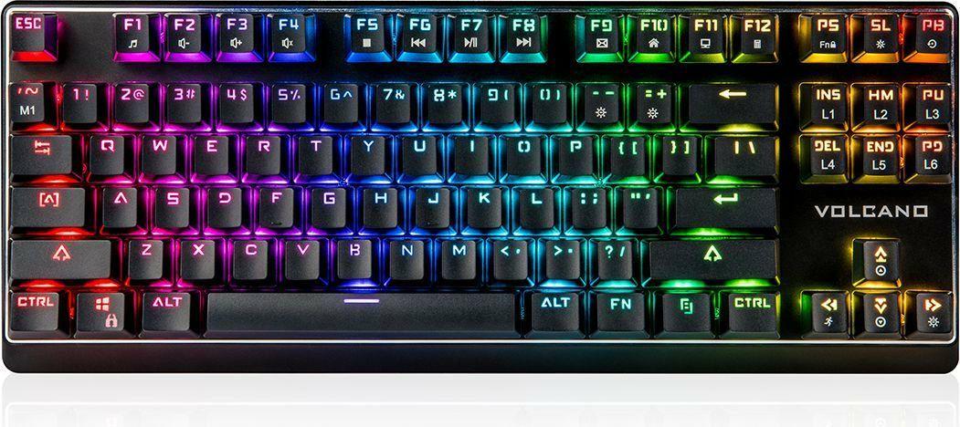 Klawiatura Modecom LanParty RGB Outemu Blue