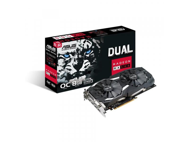 Karta graficzna ASUS Radeon RX 580 Dual OC 8GB GDDR5 @x-kom