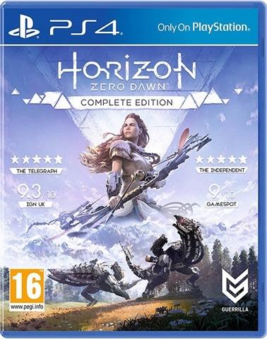 PS4 HORIZON ZERO DAWN COMPLETE EDITION NOWA FOLIA