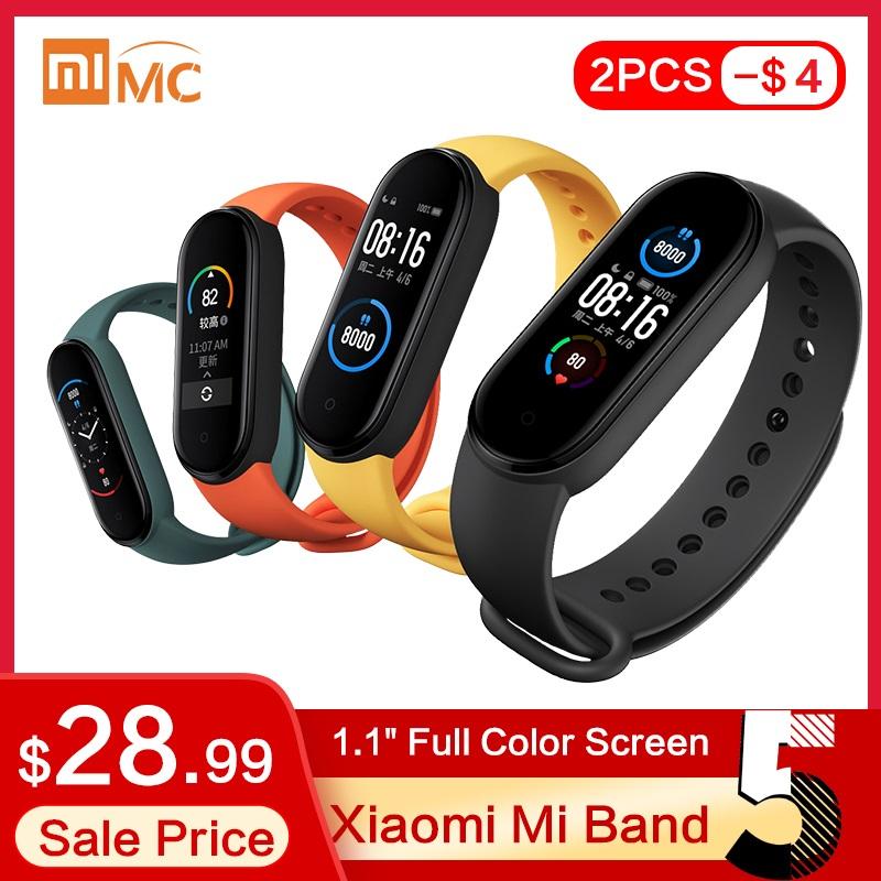 2X Xiaomi Mi Band 5 - ( 103,64zł za sztukę)