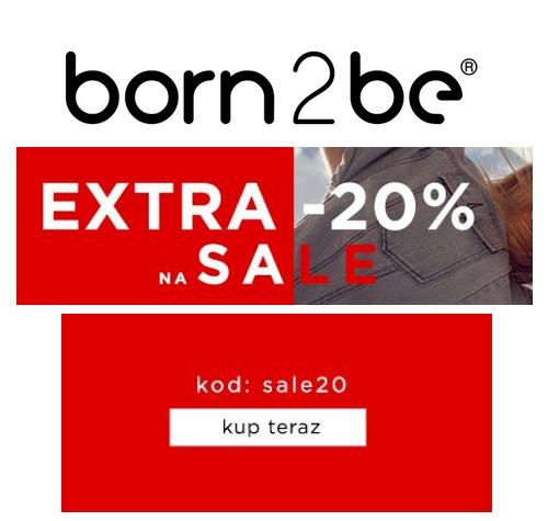 Dodatkowe 30% zniżki na WSZYSTKO w @Born2be