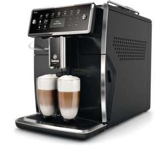 Ekspres do kawy Saeco Xelsis SM7480/00 (system spieniający mleko, wyciszony młynek, 1850W) @ OleOle