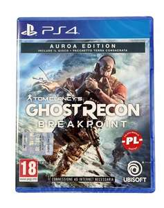PS4 TOM CLANCY'S GHOST RECON BREAKPOINT AURORA ED
