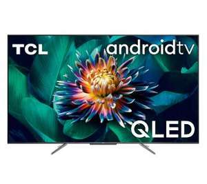 """Telewizor 50"""" TCL 50C715 QLED, 4K, Android TV, Dolby Vision, Dolby Atmos, HDR 10+, Motion Clarity PRO, PPI 2400, 3x HDMI"""