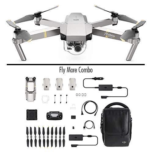 DJI Mavic Pro Combo Platinum - dron quadcopter