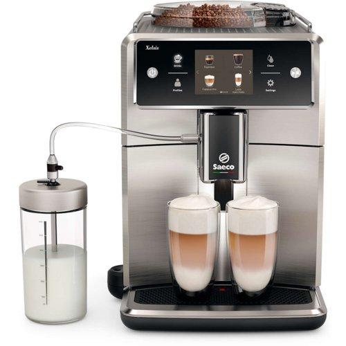 Ekspres ciśnieniowy Saeco Xelsis SM7685 (automatyczny spieniacz mleka, 15bar, 15 rodzajów napojów) @ Media Expert