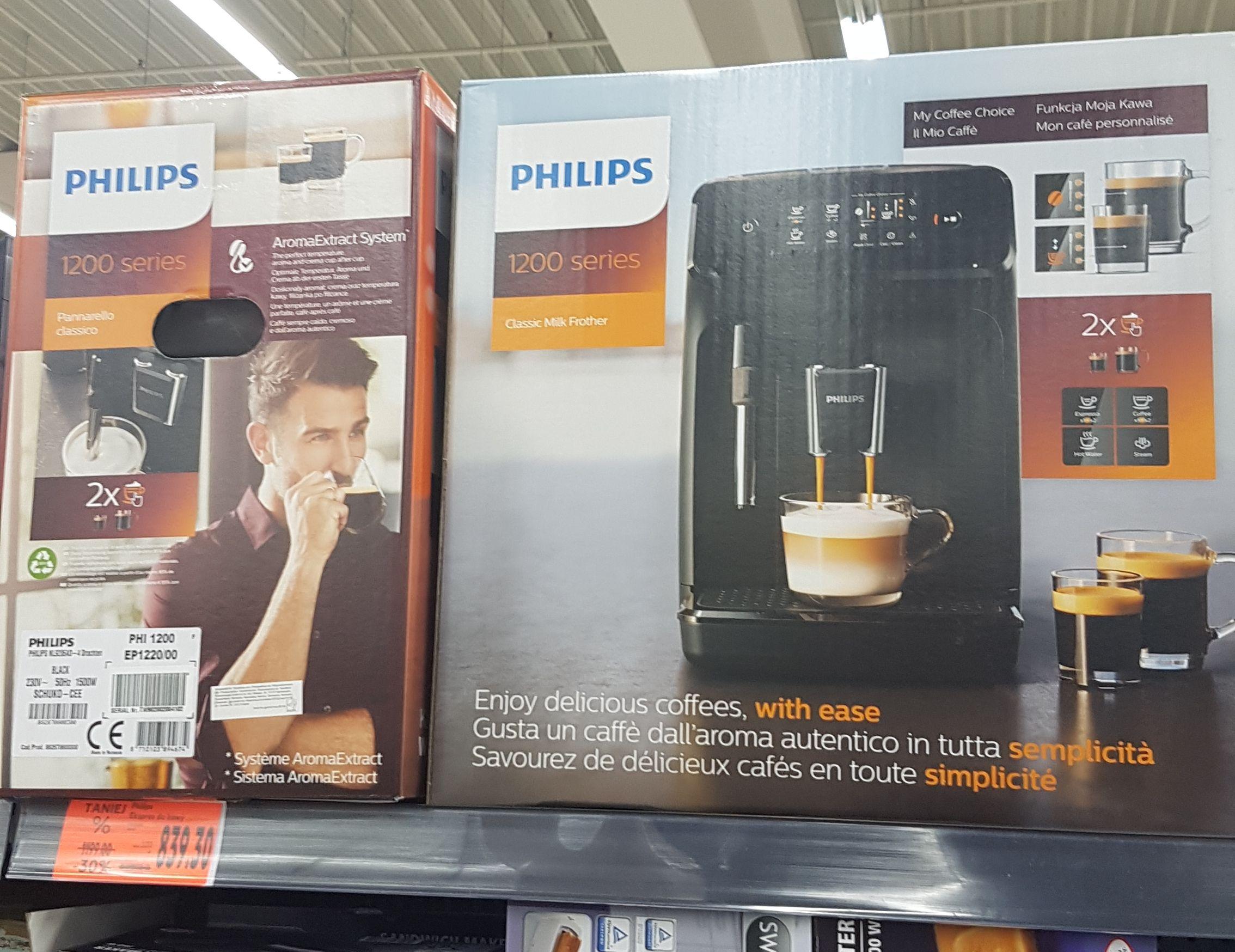 Automatyczny ekspres do kawy Phillips 1200 @ kaufland (Piła)