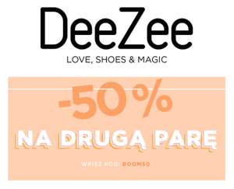 -50% na 500 produktów @Deezee i -20% na nowości z kodem LUCK20