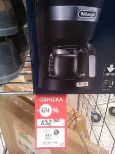 Ekspres do kawy DeLonghi. Tesco Poznań