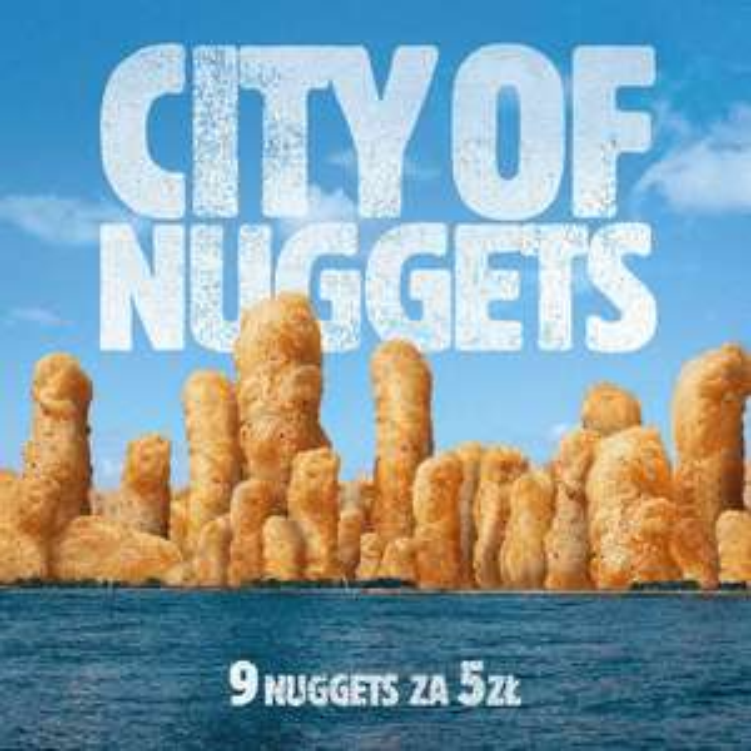 9 Nuggetsów za 5 zł - Burger King