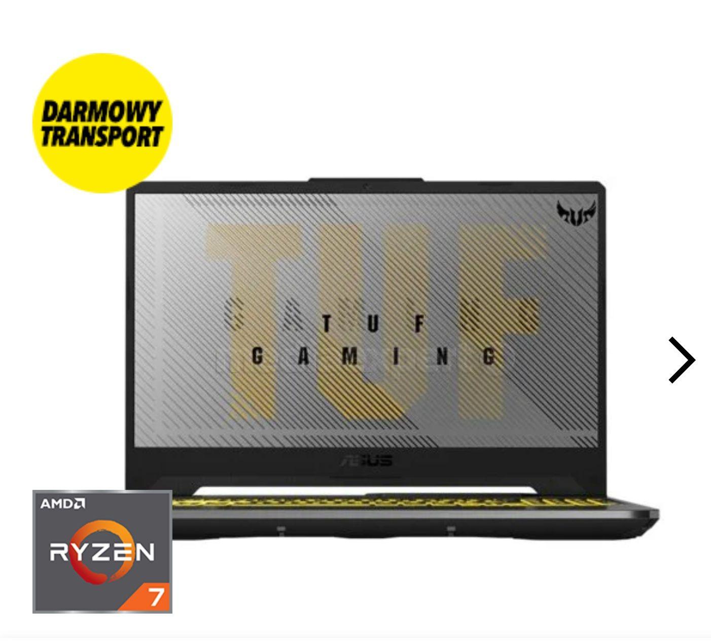 Laptop ASUS Tuf Gaming A15 Ryzen 7 4800H RTX2060 1TB