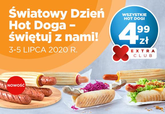 Circle K Wszystkie Hot Dogi za 4,99 zł z okazji dnia Hot Doga na CircleK