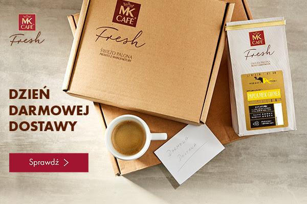 MK CAFE dziś darmowa dostawa z kodami