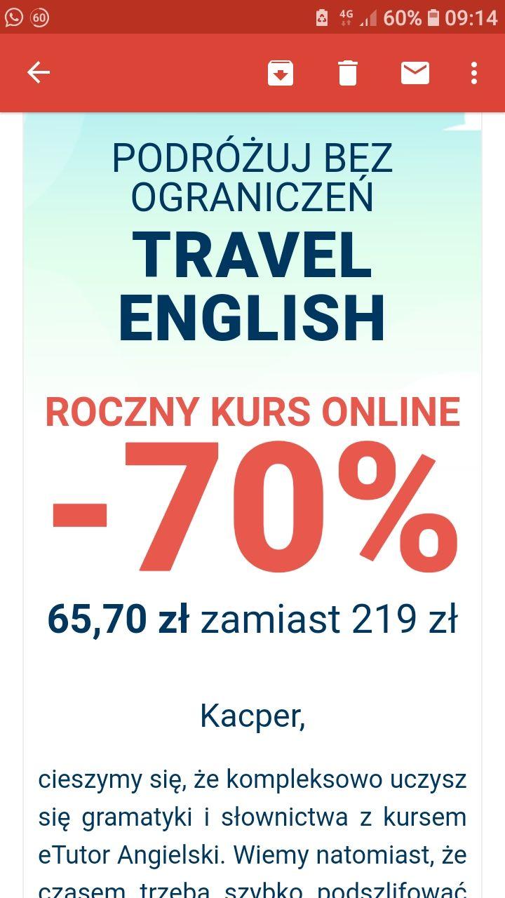 Angielski w podróży z eTutor