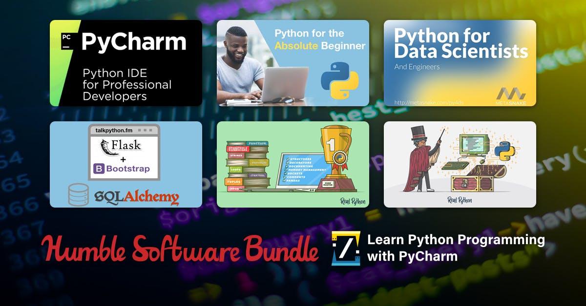 Nauka Pythona z Humble Bundle
