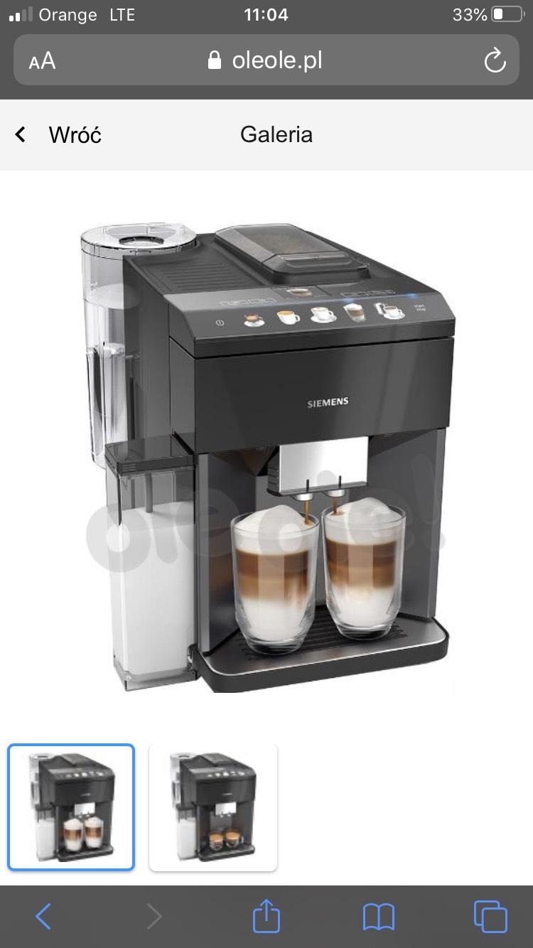 Siemens TQ505R09 ekspres do kawy