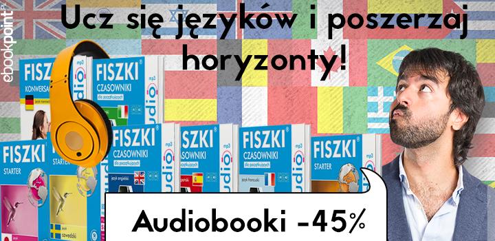 Języki obce - audiobooki -45% @ ebookpoint