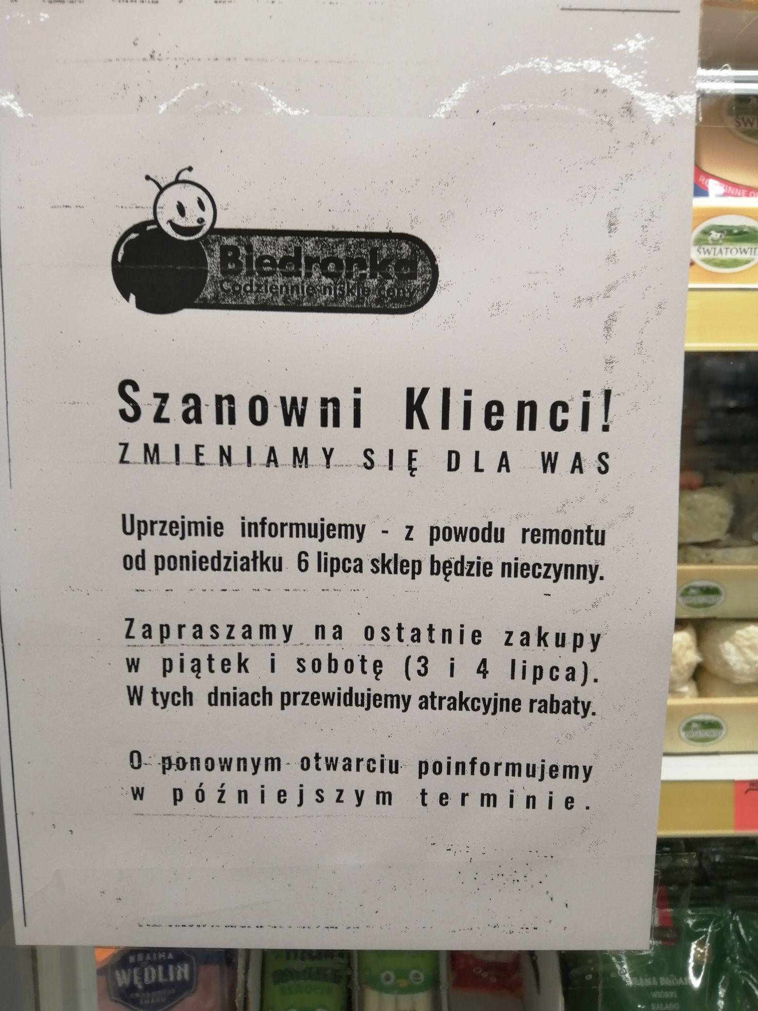 Biedronka, Wyprzedaż -50% Wrocław, Afgańska
