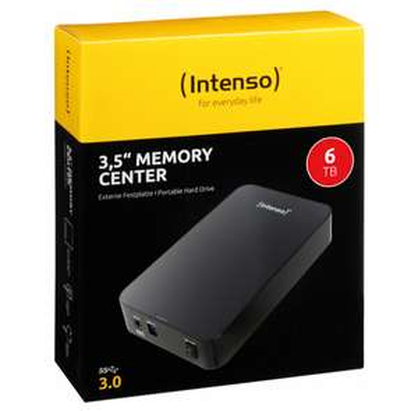 DYSK ZEWNĘTRZNY INTENSO MEMORY CENTER 6TB USB 3,5