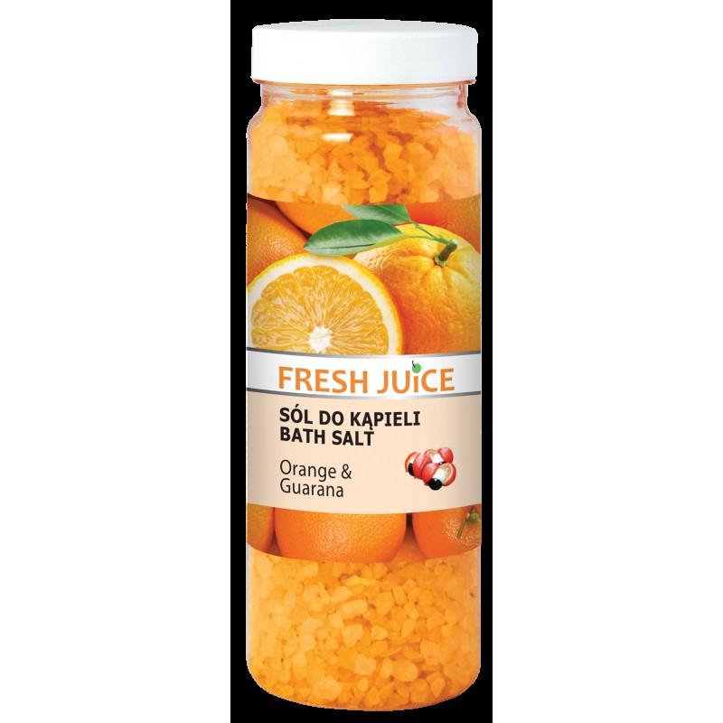 Fresh Juice Sól do kąpieli Orange & Guarana 700g