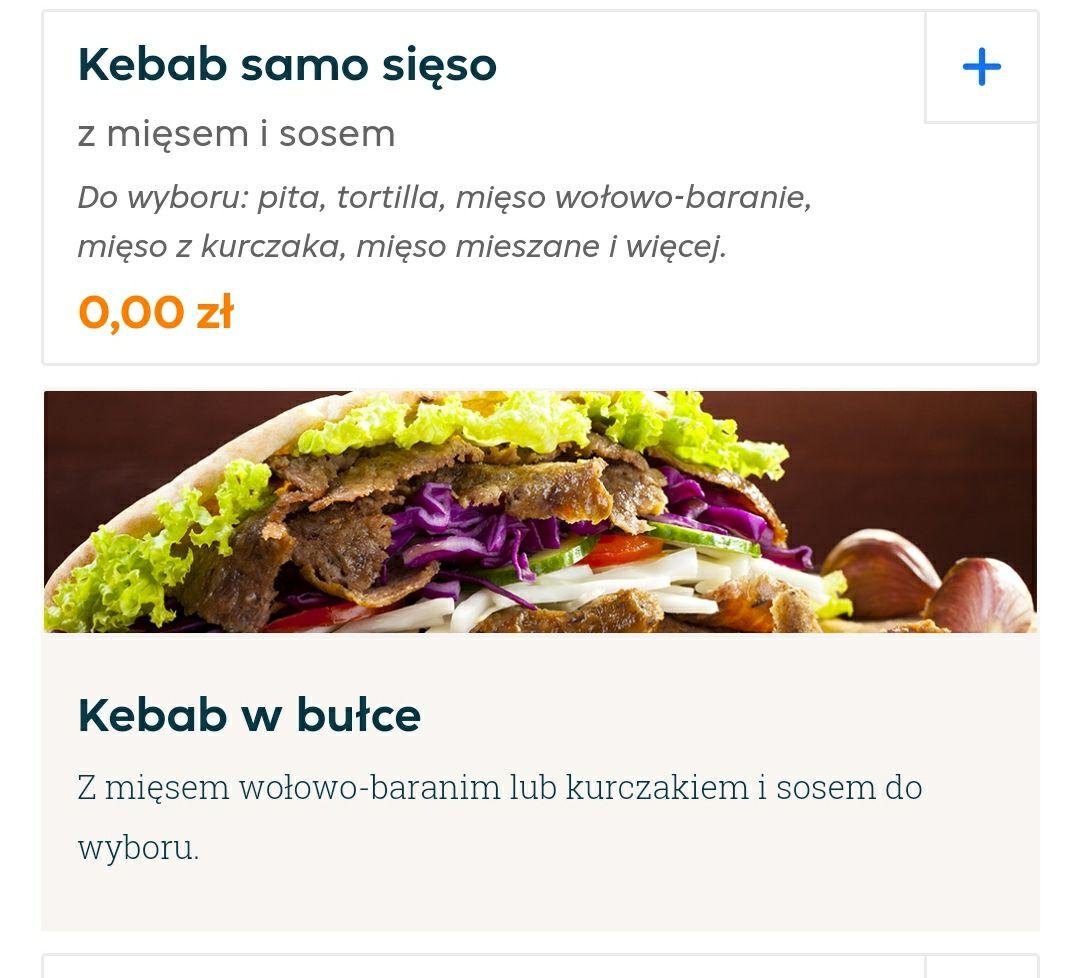Darmowy Kebab samo sięso