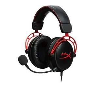 Słuchawki HyperX Cloud Alpha HX-HSCA-RD/EM