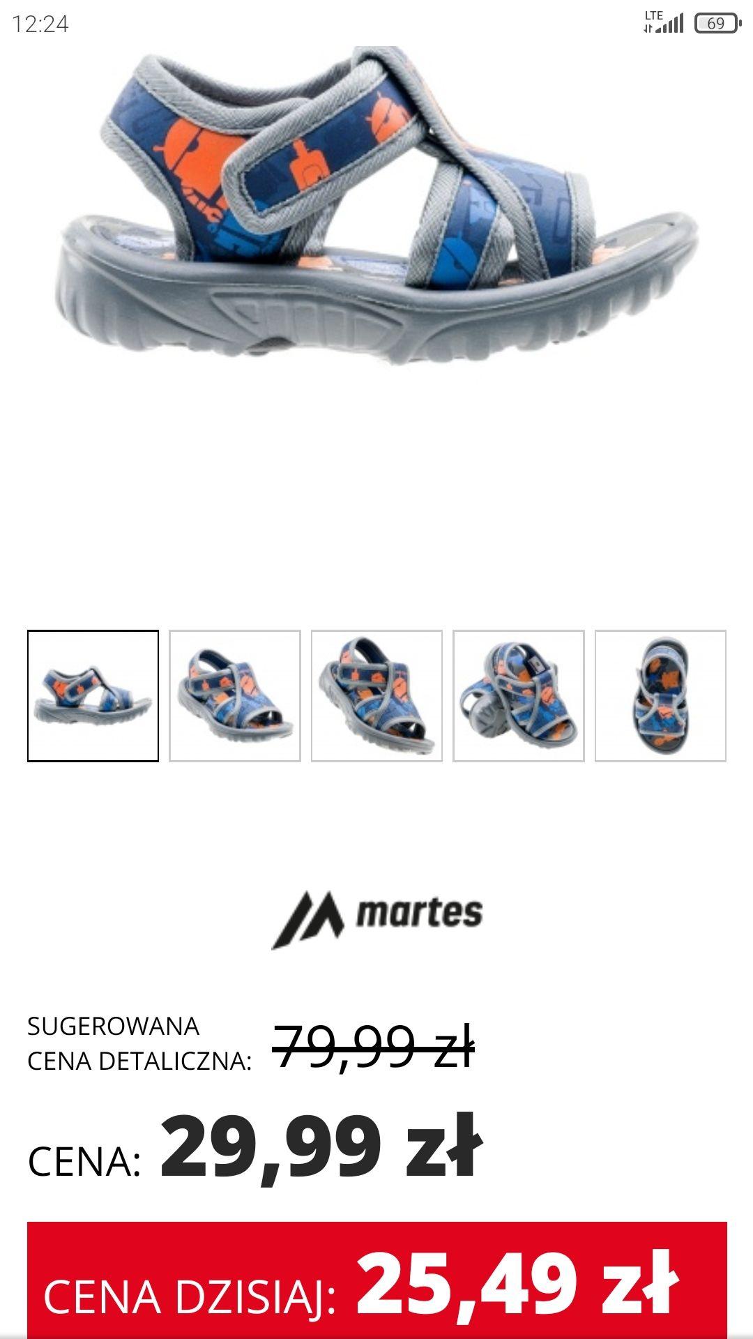 Sandały chłopięce Martes Sport