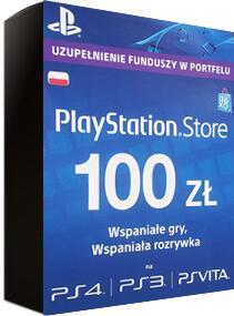 Doładowanie PlayStation Store 100 zł Gamivo