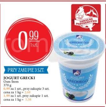 Osm Śrem Jogurt Grecki i inne dzienne promocje z dobrymi cenami @Leclerc Poznań i Śrem