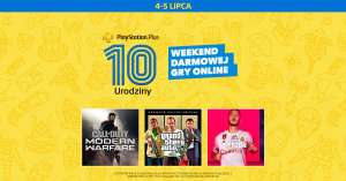 Darmowy weekend Playstation Plus