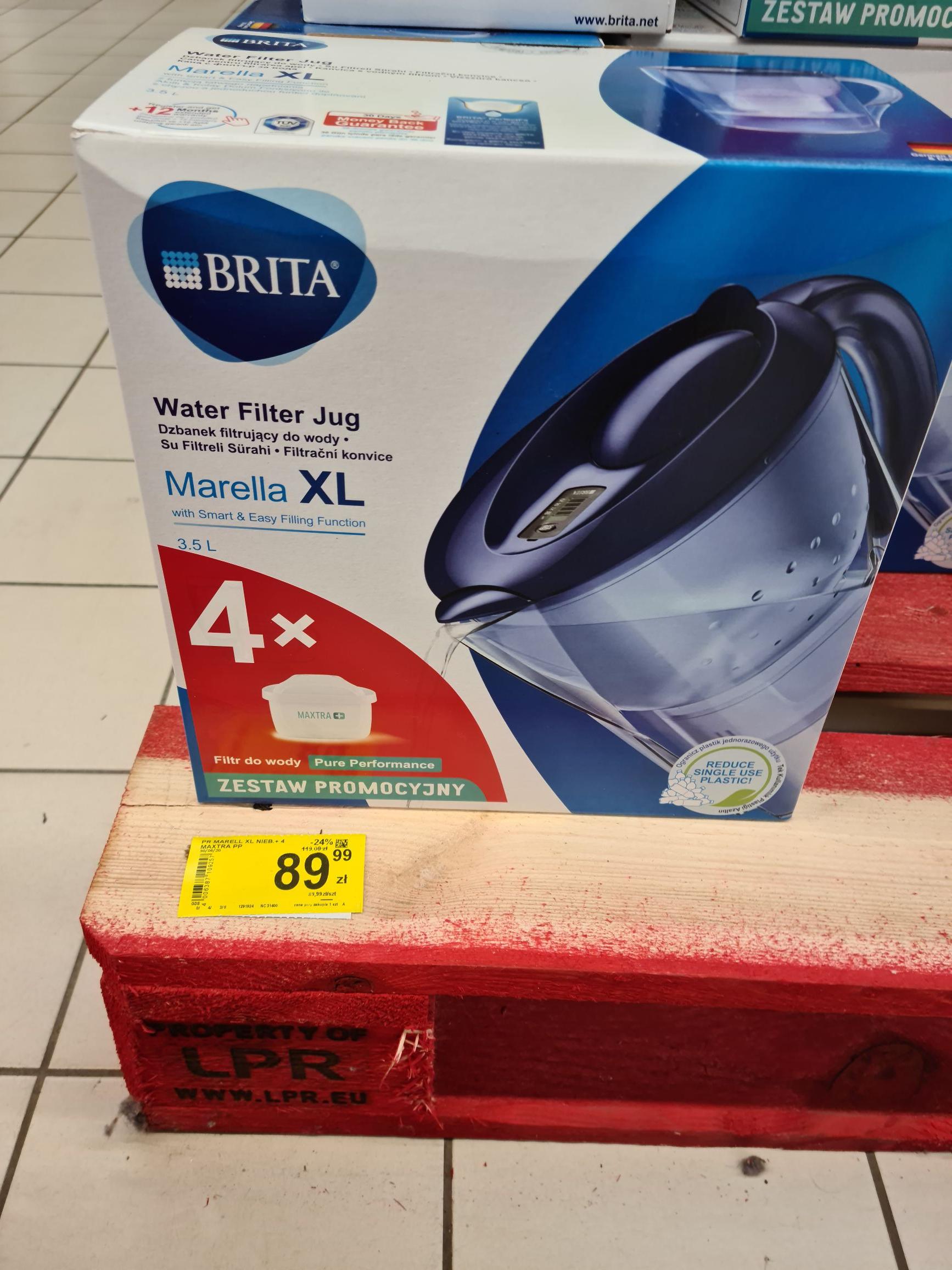 Brita marella XL 3.5L + 4 filtry