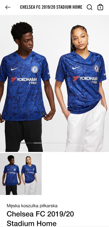 Koszulka domowa Chelsea 2019/2020 z Nike.com. Personalizowana 160 zł