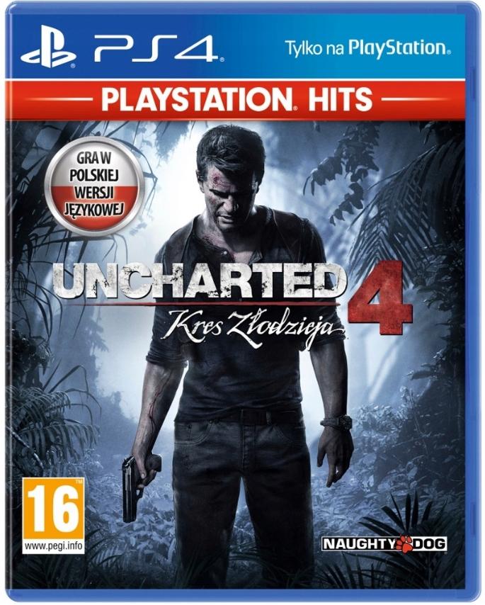 PS4 Uncharted 4 Kres Złodzieja Polski dubbing