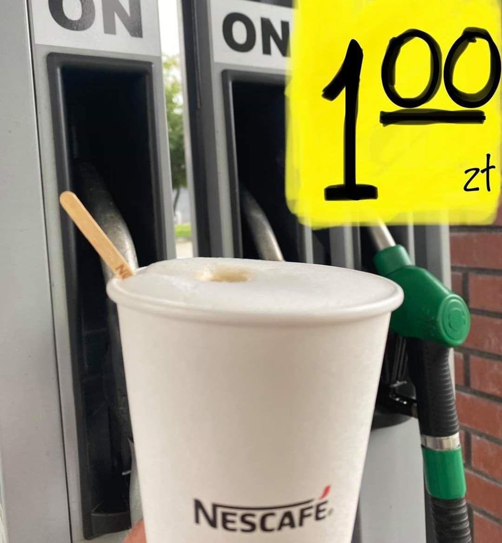 Przy tankowaniu za dowolną kwotę kawa za 1zł - RGD Racibórz